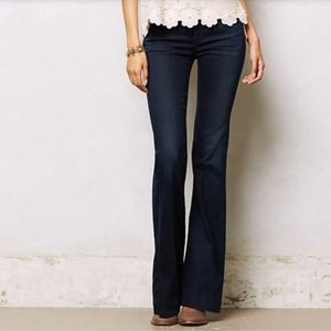 Citizens Of Humanity High Rise Wide Leg Dark Jeans